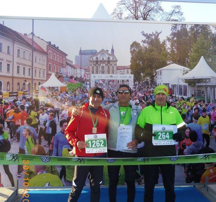 Οι Xanthi Runners στον μαραθώνιο της Λιουμπλιάνα