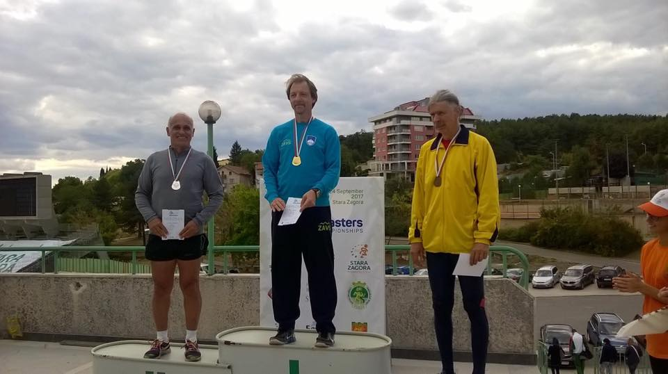 Βαλκανικοί αγώνες διαχρονικών αθλητών στίβου στο Σταρα Ζαγορά, Βουλγαρία
