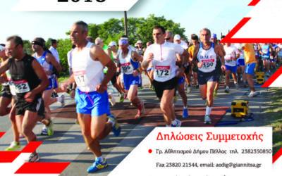 Oμαδική συμμετοχή στον Ημιμαραθώνιο Δρόμο Θυσίας Γιαννιτσών 23-09-2018